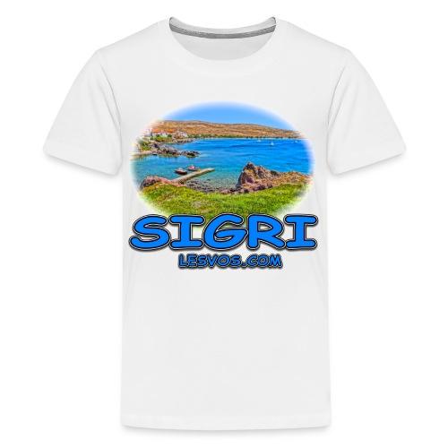 Lesvos-Sigri 2 (kids) - Kids' Premium T-Shirt