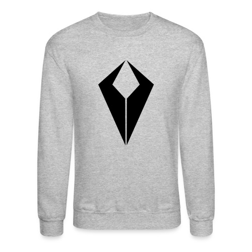 Black QiviD Crew Neck - Crewneck Sweatshirt