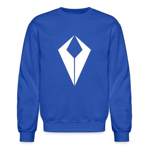 White QiviD Crew Neck - Crewneck Sweatshirt