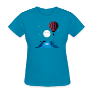 T-Shirts ~ Women's T-Shirt ~ Hot Air Balloon