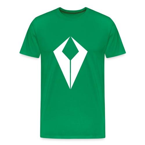White QiviD T-Shirt - Men's Premium T-Shirt