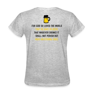 Beer 3:16 - Women's T-Shirt