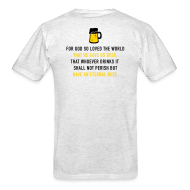 T-Shirts ~ Men's T-Shirt ~ Beer 3:16