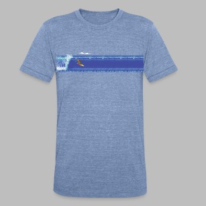 California Games - Unisex Tri-Blend T-Shirt by American Apparel