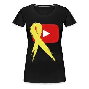 The YouTubers' 8-Bit Salute - Women's Premium T-Shirt