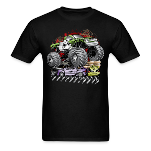 Mega Death Monster Truck - Men's T-Shirt