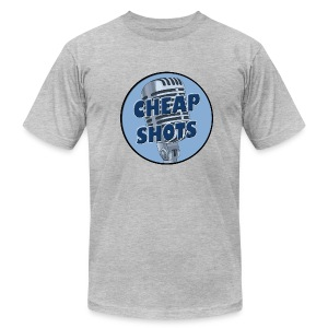 Cheap Shots Radio plain t-shirt - Men's Fine Jersey T-Shirt