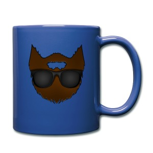 Beard with Sunglasses Coffee Cup - Full Color Mug