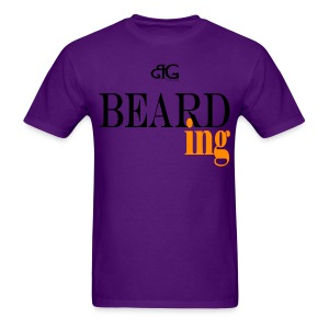 Beard Gains Bearding Tee - Men's T-Shirt