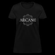 T-Shirts ~ Women's T-Shirt ~ 'Gears' [2015 update!] (Black, Womens)