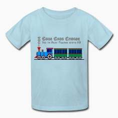 "Kids Toy Train Shirt, ""I Choo Choo Choose you"""
