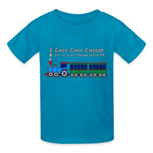 Choo Choo Choose YOU - Toy Train Kids Shirt  - Kids' T-Shirt
