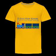 Kids' Shirts ~ Kids' Premium T-Shirt ~ Choo Choo Choose YOU - Toy Train Kids Shirt