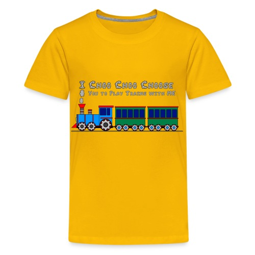Choo Choo Choose YOU - Toy Train Kids Shirt  - Kids' Premium T-Shirt