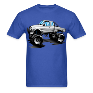 Monster Lifted Ford Truck - Men's T-Shirt