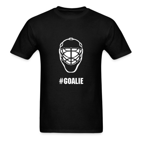 #GOALIE t-shirt - Men's T-Shirt