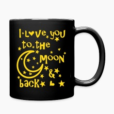 I love you to the moon and back Full Color Mug