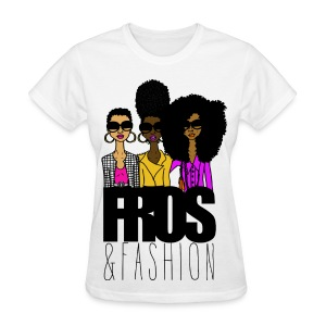 fros and fashion - Women's T-Shirt