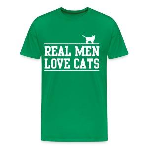 Real Men - Men's Premium T-Shirt