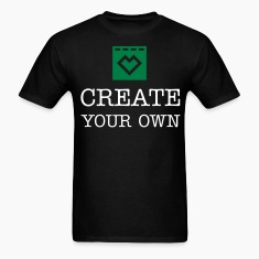 Create Your Own - Men's Black T-Shirt
