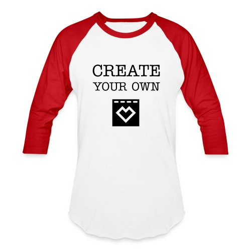 Create Your Own - Men's Baseball T-Shirt - Baseball T-Shirt