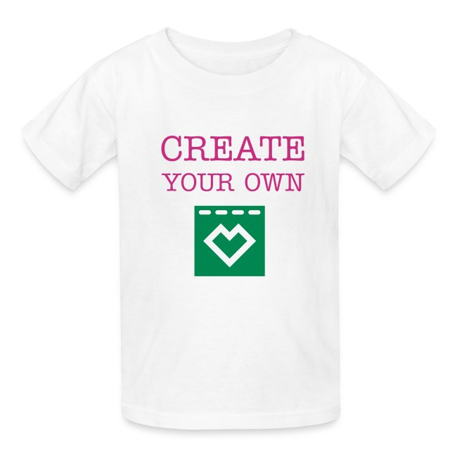 Create Your Own Kids Youth T Shirt