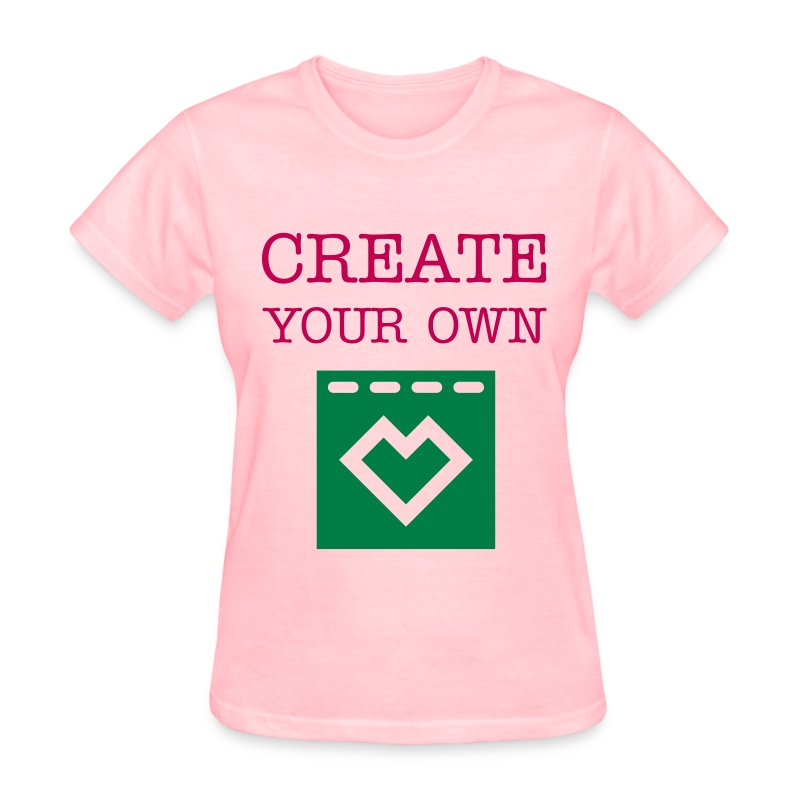 Create your own women 39 s t shirt t shirt falling leaves for Make and design your own t shirts
