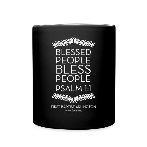 Blessed People Coffee Mug - Full Color Mug