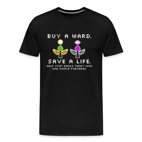 Wards Save Lives PSA T-Shirt - Men's Premium T-Shirt