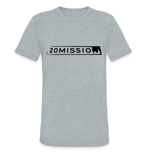 Men's heather grey tee - Unisex Tri-Blend T-Shirt