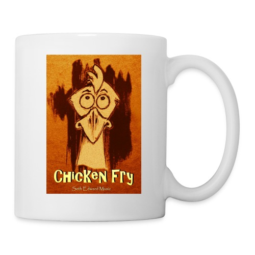 White Chicken Fry Coffee Mug - Coffee/Tea Mug