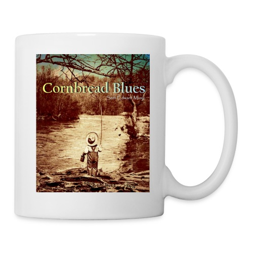 White Cornbread Blues Coffee Mug - Coffee/Tea Mug