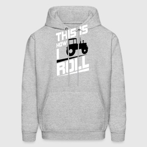 this is how I roll Hoodies - Men's Hoodie