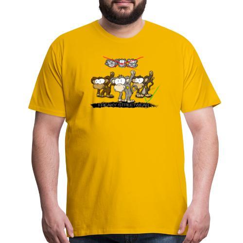 protest monkeys - Men's Premium T-Shirt