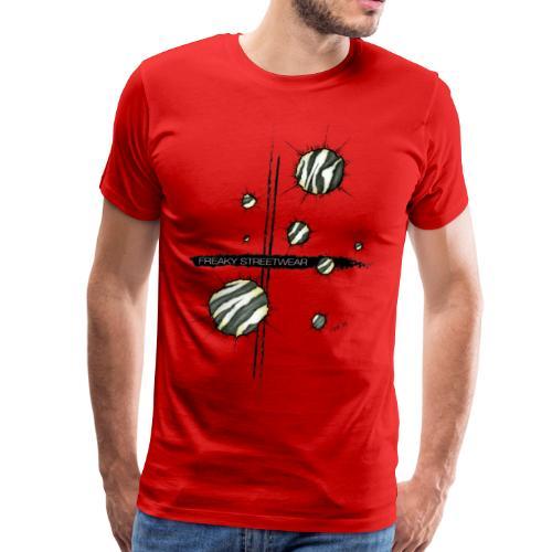 shots zebra - Men's Premium T-Shirt