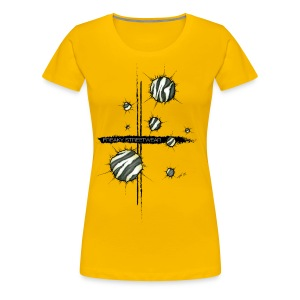 shots zebra - Women's Premium T-Shirt