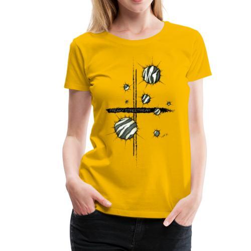 shots zebra - Women's Premium T-Shirt
