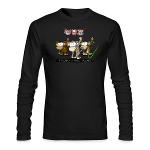 protest monkeys - Men's Long Sleeve T-Shirt by Next Level