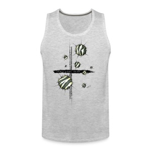 shots zebra - Men's Premium Tank