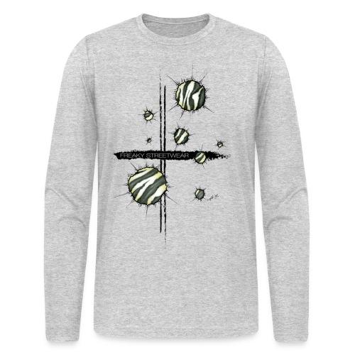 shots zebra - Men's Long Sleeve T-Shirt by Next Level
