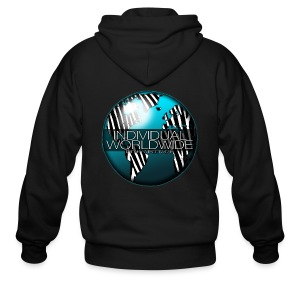 individual as one - Men's Zip Hoodie