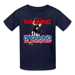 Gronking May Cause Deflation - Kids' T-Shirt
