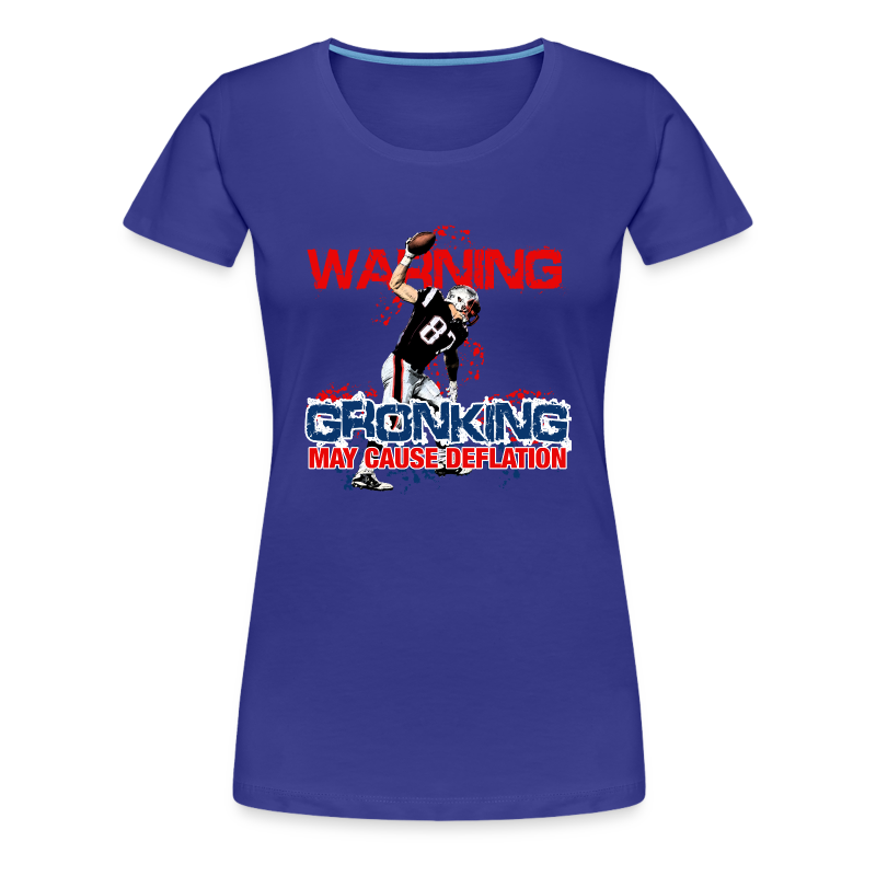 Gronking May Cause Deflation - Women's Premium T-Shirt
