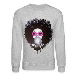 Afro pop pink - Crewneck Sweatshirt