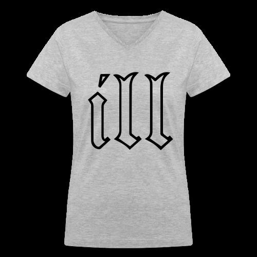 ill Women's V-Neck T-Shirt - Women's V-Neck T-Shirt