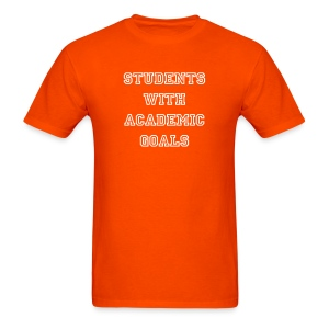 Students With Academic Goals - Men's T-Shirt