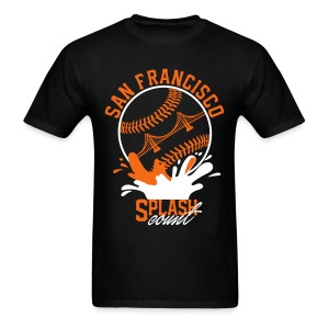 SF splashes - Men's T-Shirt