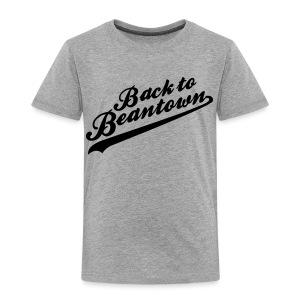 Back to Beantown Softball - Toddler Premium T-Shirt