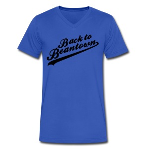 Back to Beantown Softball - Men's V-Neck T-Shirt by Canvas