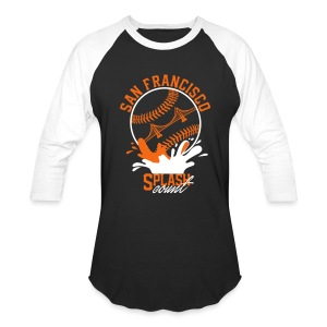 SF splash count - Baseball T-Shirt